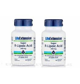Life Extension Super R-Lipoic Acid, 240 Mg 60 Vegetarian Capsules, 2-pack