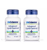 Life Extension Advanced Lipid Control, 60 Vegetarian Capsules, 2-pack