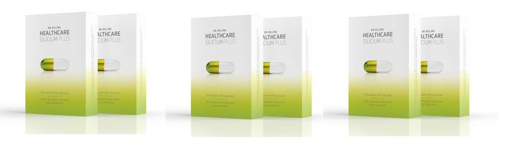 Dr. Rilling Healthcare Dr. Rilling Healthcare Silicium Plus, 3-pack