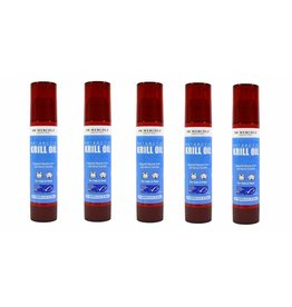 Dr. Mercola Dr. Mercola, Antarctic Krill Oil, For Cats & Dogs, 2,0 Fl Oz (59ml), 5-pack