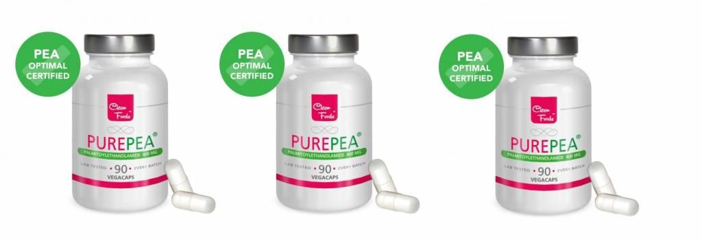 Cleanfoods Purepea 3-pack, 90 Vegetarian Capsules