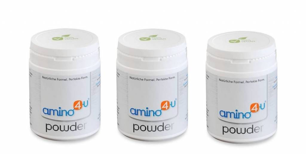amino4u Amino4u Powder, 120g, 3-pack