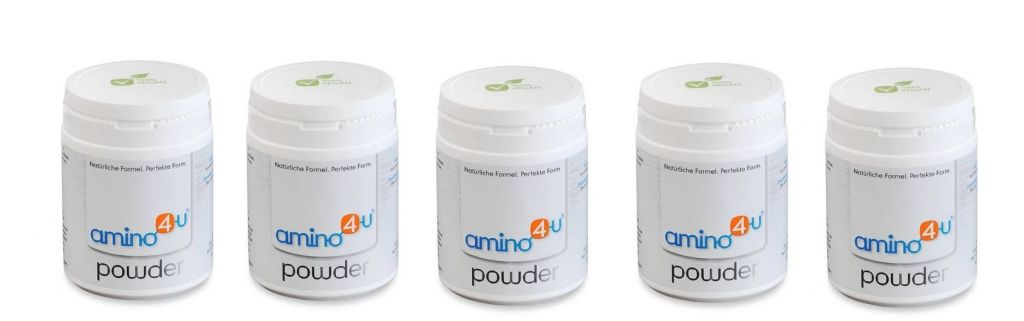 amino4u Amino4u Powder, 120g, 5-pack