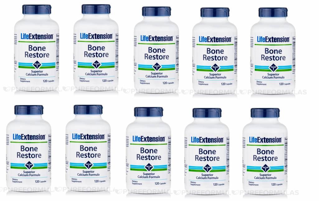 Life Enhancement Bone Restore, 120 Capsules, 10-packs