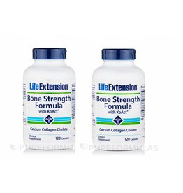 Life Extension Bone Strength Formula With Koact®, 120 Capsules, 2-pack
