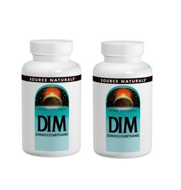 Source Naturals DIM, 100 Mg 60 Tablets, 2-pack