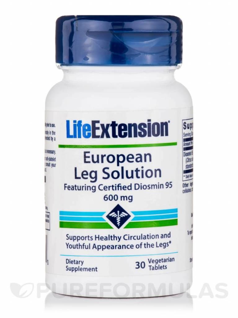 Life Extension European Leg Solution featuring Certified Diosmin 95