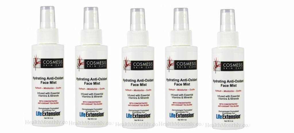 Cosmesis Hydrating Anti-oxidant Face Mist, 4 Oz., 5-pack