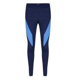 Long tight navy-sky blue