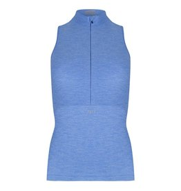 Sleeveless top sky-blue