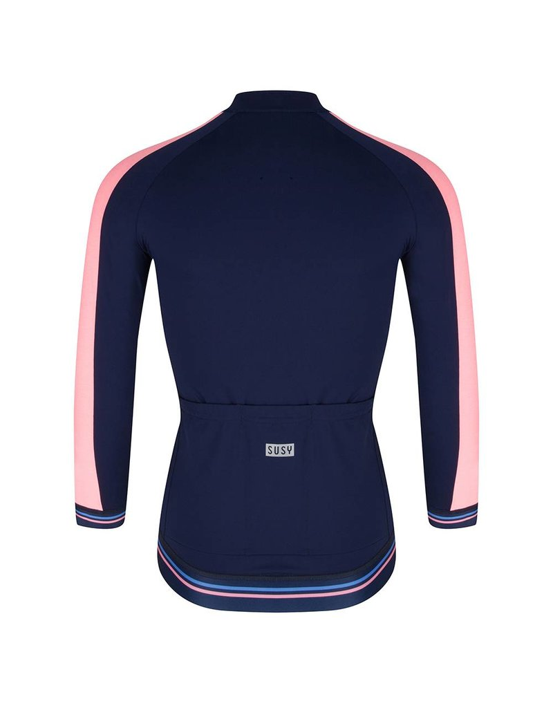 Susy jersey navy coral-pink