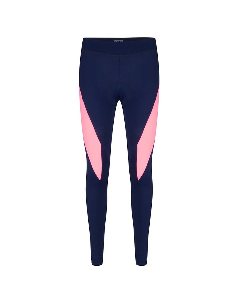 Susy long tight navy-coral pink