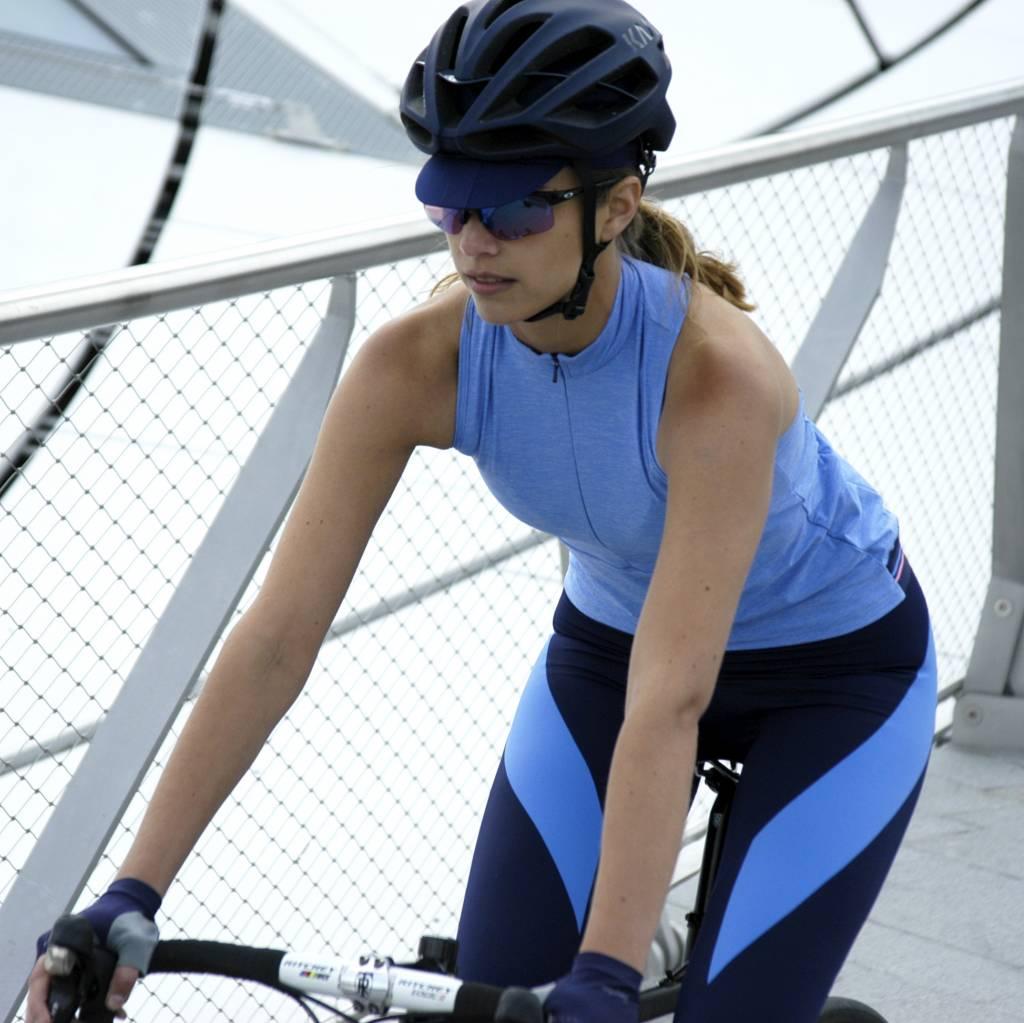 Maillot vélo sans manches femme