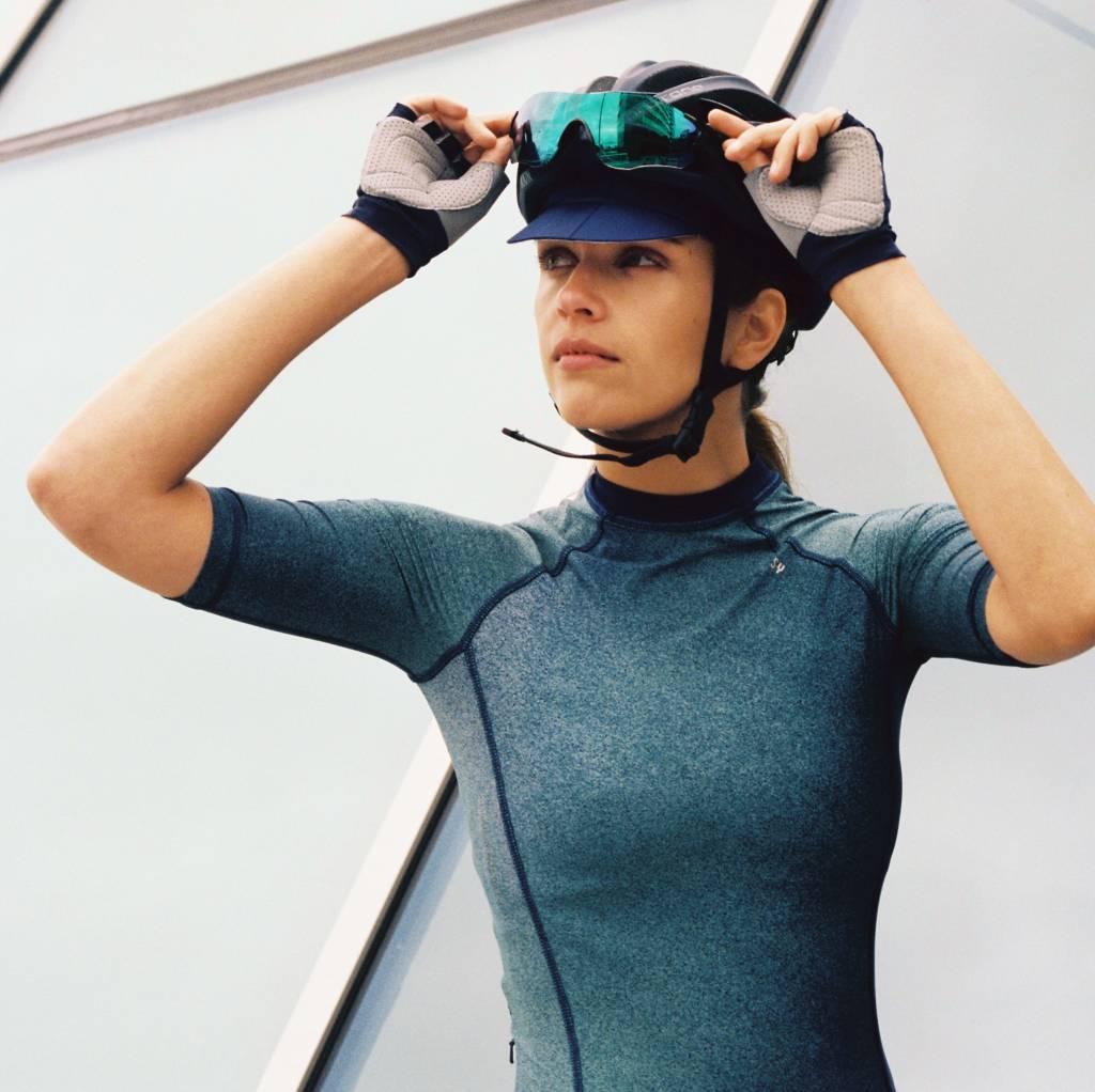 Fahrradtrikot kurzarm für Damen