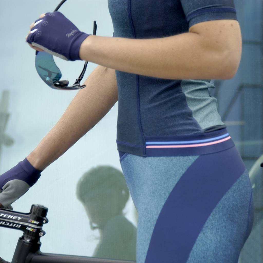 Driekwart fietsbroek voor dames