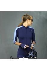 Dames fietsshirtje blauw