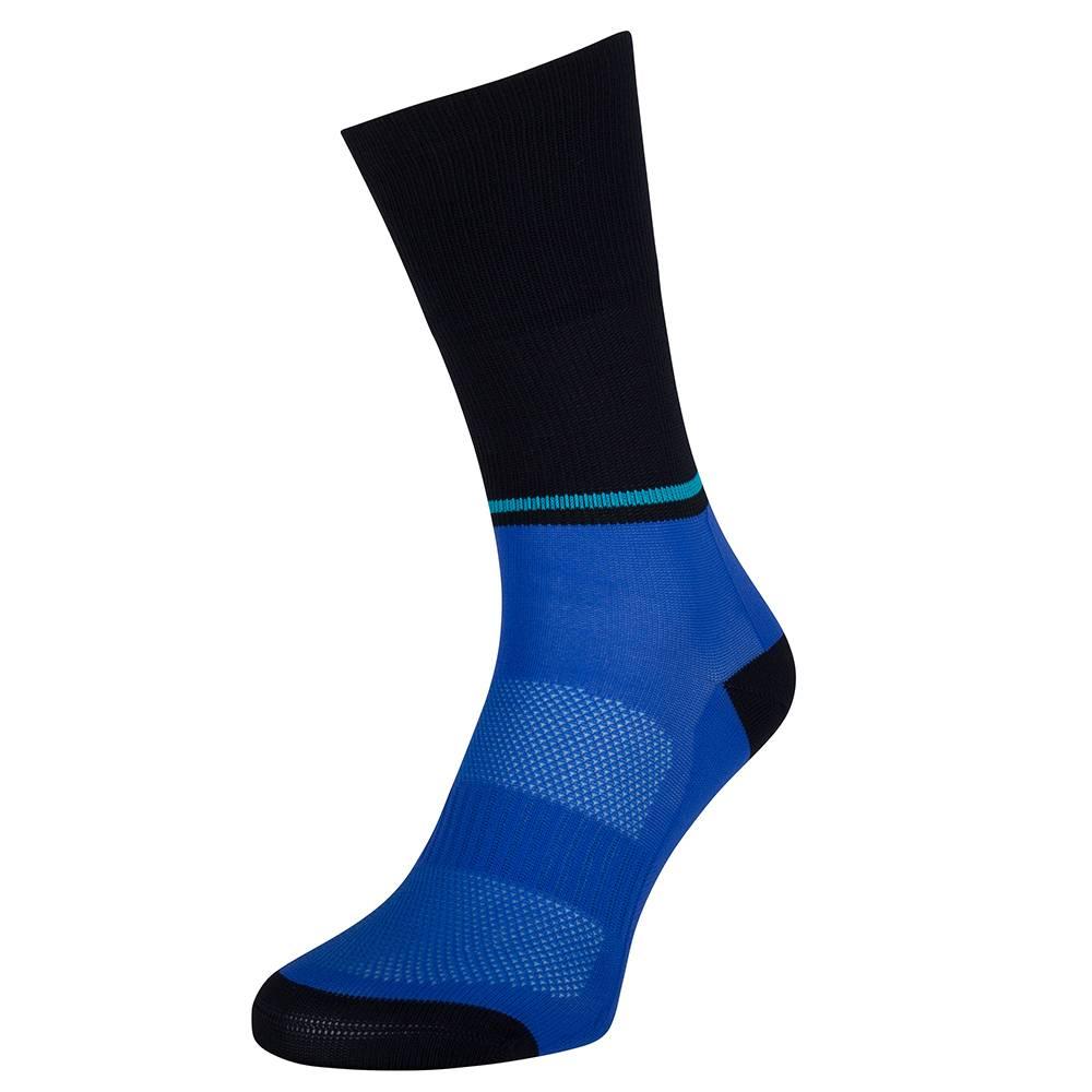 Blue cycling socks of Susy cyclewear