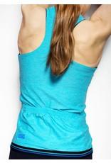 Double-sided sleeveless bike top