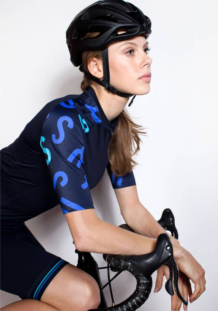 Maillot cycliste femme manches courtes