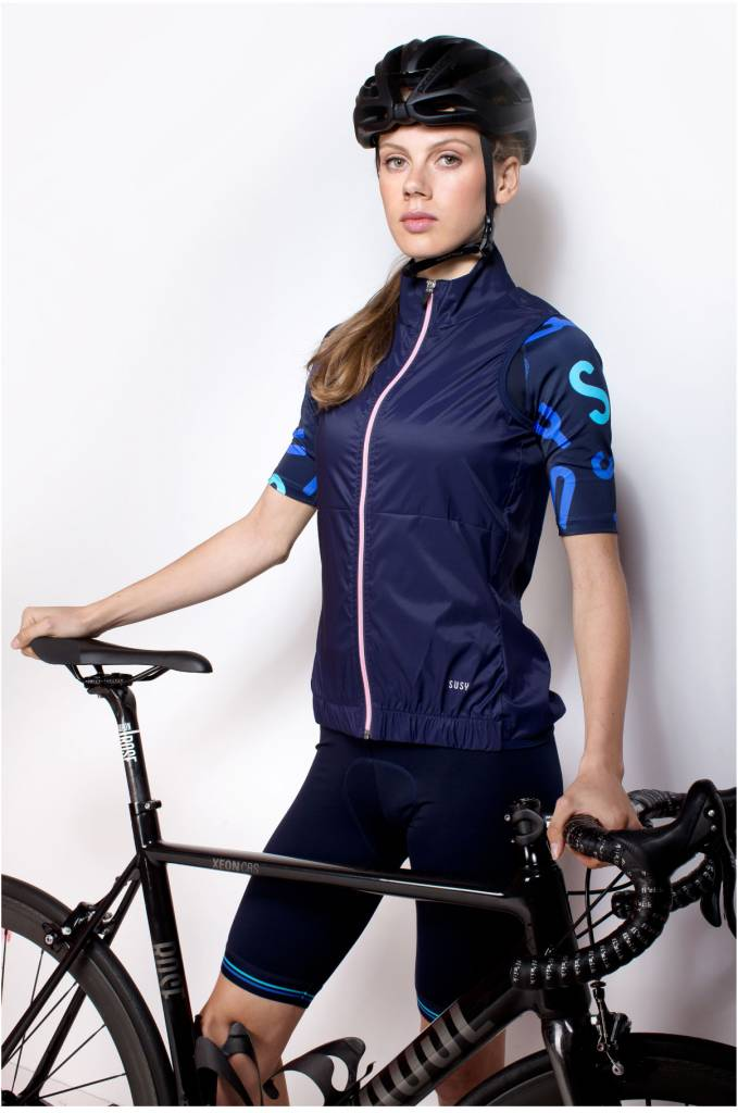 Women's wind gilet light weight