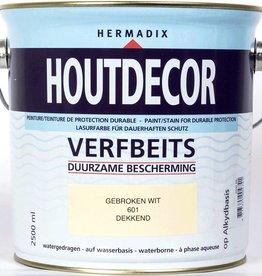Hermadix Beits dekkend 601 gebroken wit 2,5 ltr