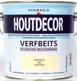 Hermadix Beits dekkend 602 zandgeel 2,5 ltr
