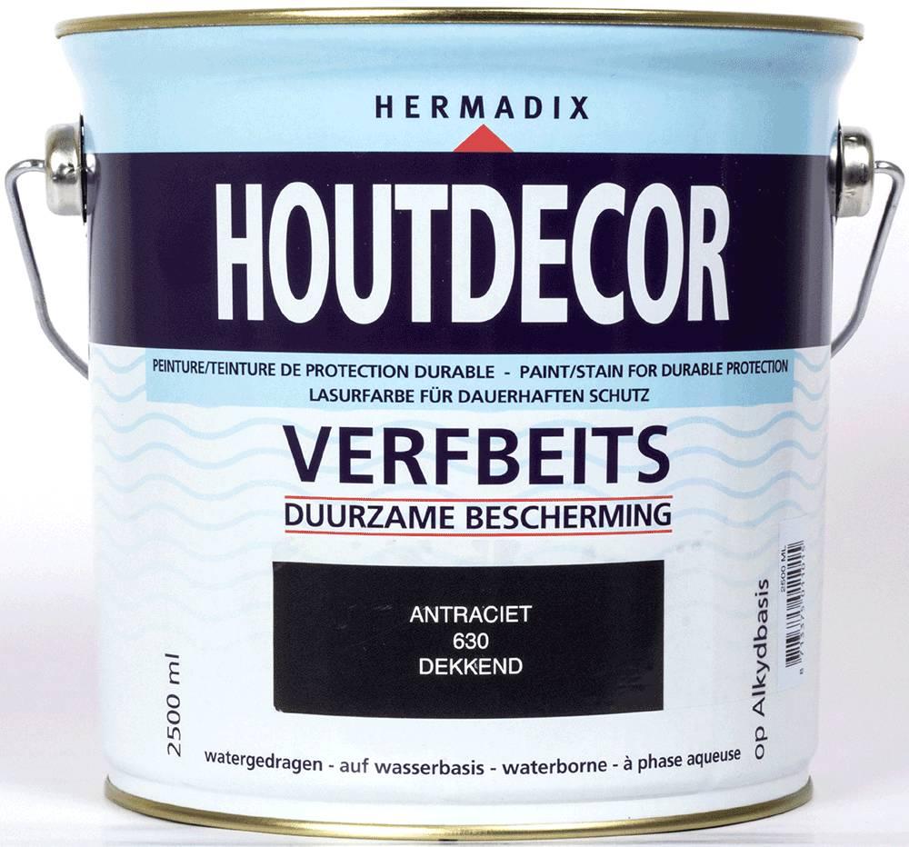 Hermadix Beits dekkend 630 antraciet 2,5 ltr