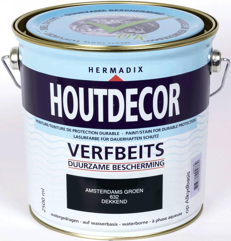 Hermadix Beits dekkend 632 amsterdams groen 2,5 ltr