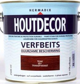 Hermadix Beits transparant 651 teak 2,5 ltr