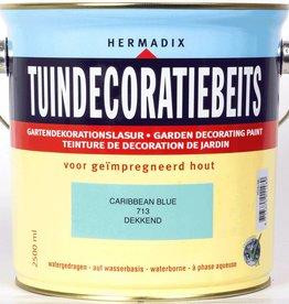 Hermadix Beits dekkend 713 caribbean blue 2,5 ltr