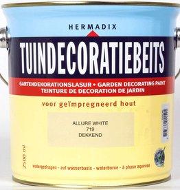 Hermadix Beits dekkend 719 allure white 2,5 ltr