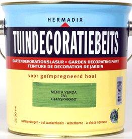 Hermadix Beits transparant 783 menta verda 2,5 ltr