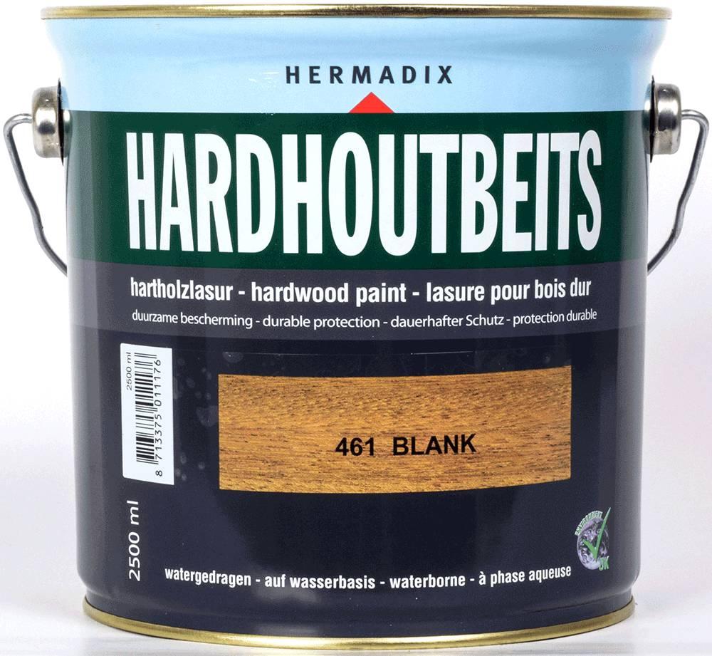 Hermadix Hardhoutbeits 461 blank 2,5 ltr