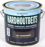 Hermadix Hardhoutbeits 463 donkergrijs 2,5 ltr