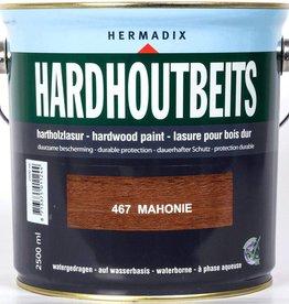 Hermadix Hardhoutbeits 467 mahonie 2,5 ltr