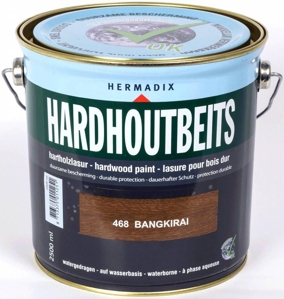 Hermadix Hardhoutbeits 468 bangkirai 2,5 ltr