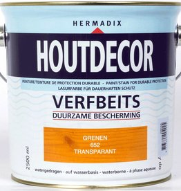 Hermadix Beits transparant 652 grenen 2,5 ltr