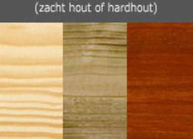 Beits per houtsoort