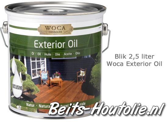Woca houtolie antraciet 2,5 liter