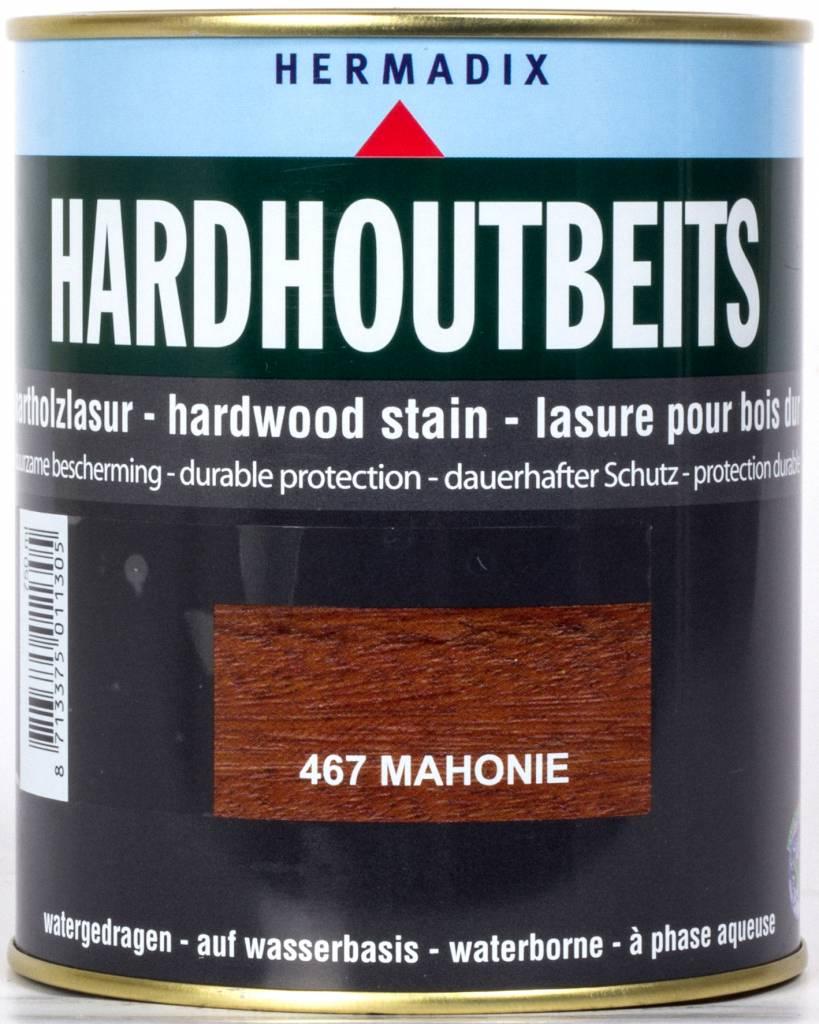 Hermadix Hardhoutbeits 467 mahonie 0,75 ltr