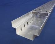 Caniveau de Drainage , Gouttières de drainage forme A en tôle de aluminium ou acier inoxydable