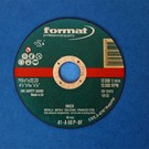 Disque à tronçonner 3 pièces 115 x 1,0 mm (acier inoxydable)
