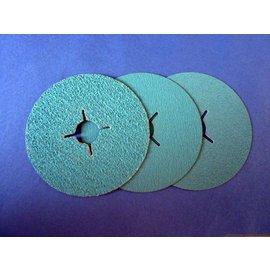 5 pièces Disque fibre 115 mm (acier inoxydable)