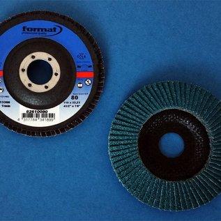 3 Stück Fächerscheibe gekröpft (Edelstahl) 115 mm für Winkelschleifer