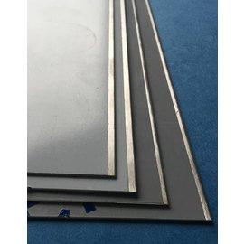 Versandmetall Stok Restant 5 bandes en acier inoxydable 1,0mm de 50mm de large x 2 mtr