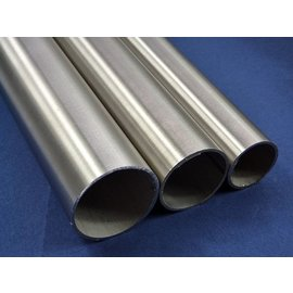 Tube en acier inoxydable rond acier inoxydable 1.4301 surface brossé en grain 240