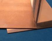 Tôle de cuivre découpes de tôle métal plaque plaque de cuivre