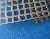Lochblech Quadratlochblech Gitter aus Edelstahl