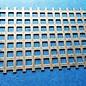 Feuille de trou carré en acier inoxydable 1.0mm Qg 8-12 (8 trous carrés dans la rangée et largeur de pont de 4mm)