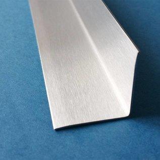 Versandmetall Innen Edelstahlwinkel Kantenschutzwinkel Eckschutzschiene gleichschenkelig 90° Länge 2000 mm